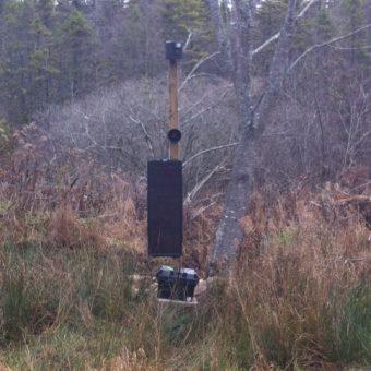Deer Shield Pro at Lahave River Berry Farm Inc.