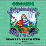 seaweed fertilizer label