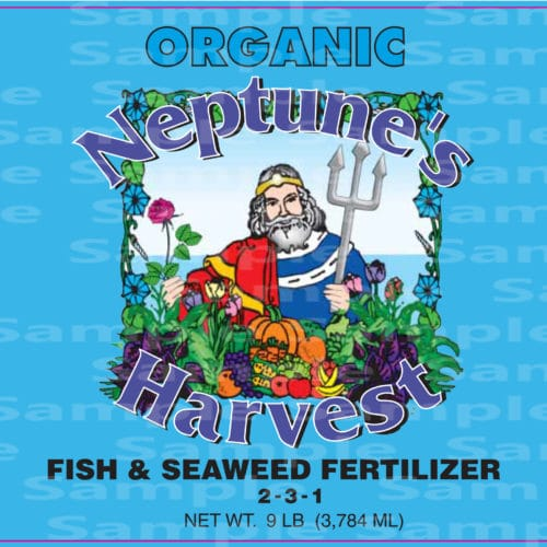 Neptune's Harvest Organic Fish & Seaweed Fertilizer, Lahave River Berry Farm Inc.